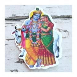 Samolepky - Radha Krishna 1