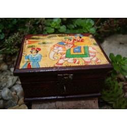 Malovaná krabička