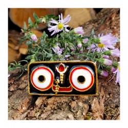 Pozlacená Murti Jagannáth oči