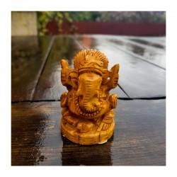 Dřevěný Ganesh
