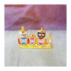Pozlacená murti Jagannáth